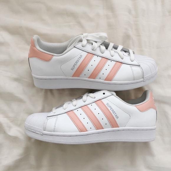 adidas superstar peach